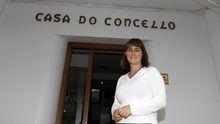 La alcaldesa de Barreiros, Ana Ermida, en foto de archivo