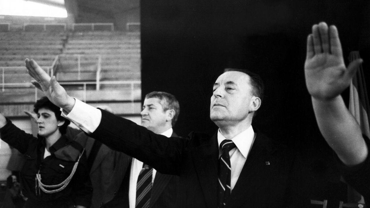 El ex coordinador federal de IU Julio Anguita definió la situación de España como «de postración extrema»