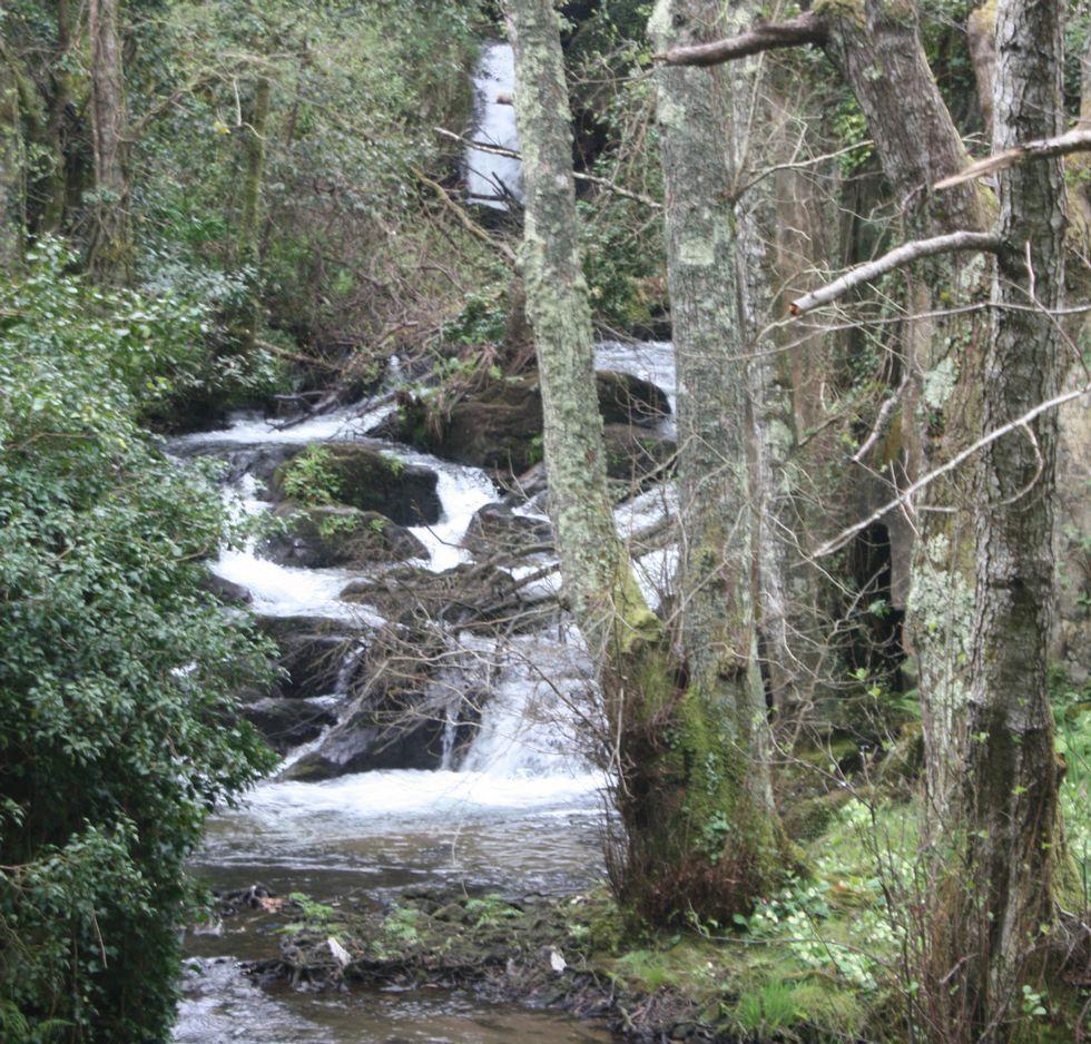 Cascada del río Negro.