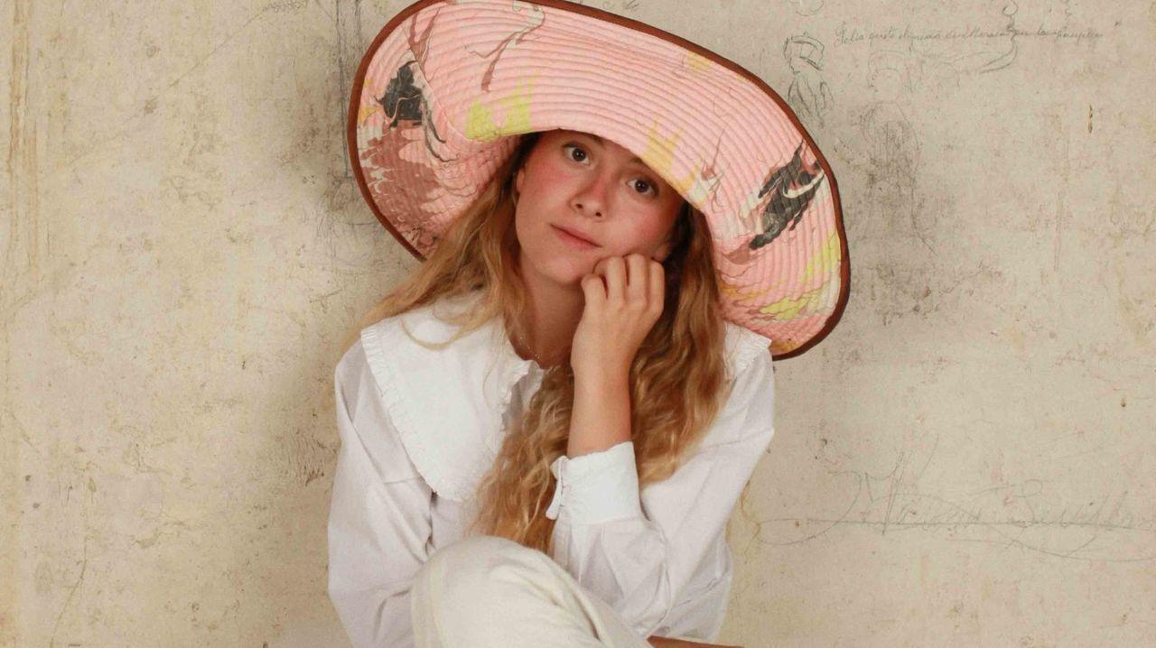 Uno de los diseños de Romualda, la firma española de sombreros de pescador estampados