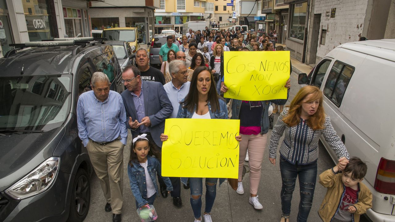 Vecinos de Malpica organizaron una protesta el lunes y anuncian más para las próximas semanas
