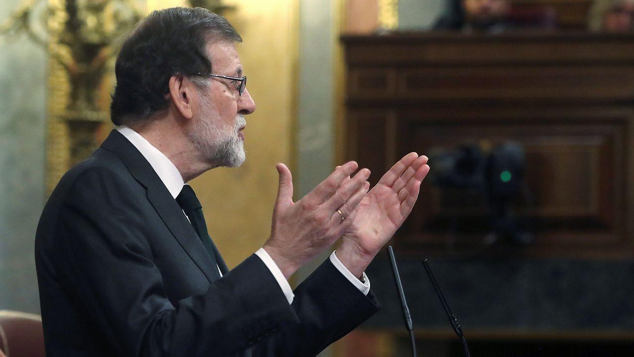 Mariano Rajoy se he despedido con unas palabras: «Ha sido un honor dejar una España mejor de la que encontré»