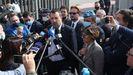 A su salida del tribunal, Salvini consideró que se trataba de un «proceso político organizado por la izquierda».