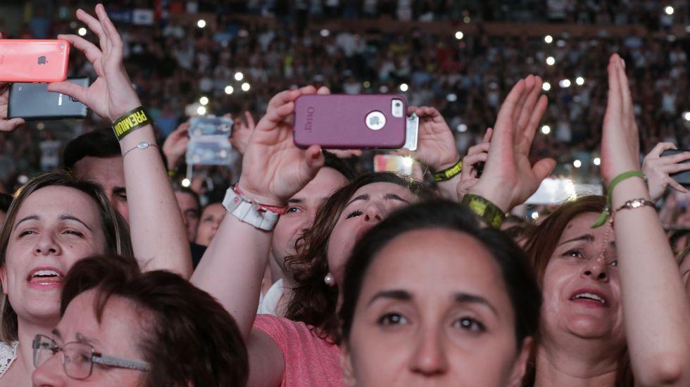 El concierto, en imágenes