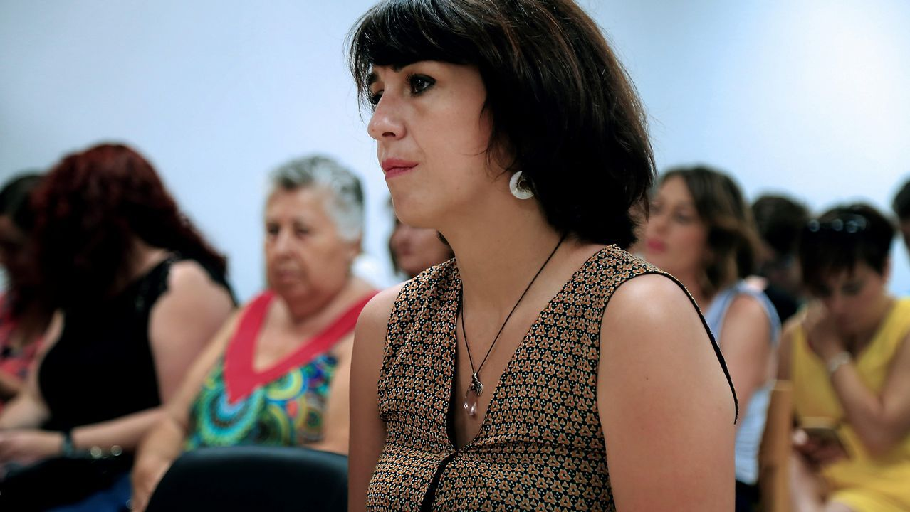 Juana Rivas en el Juzgado de Granada, en una imagen de archivo.