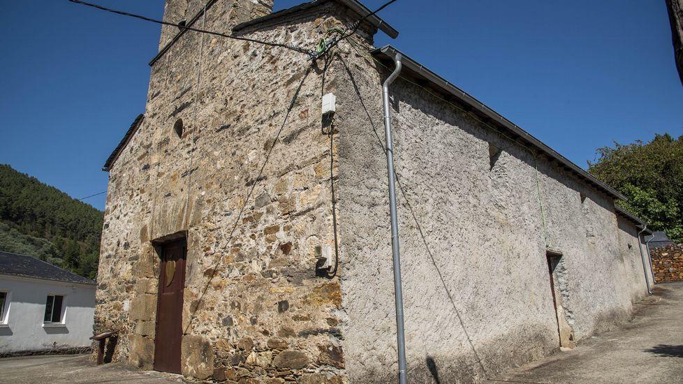 Iglesia de Nosa Señora das Neves en Nogueira