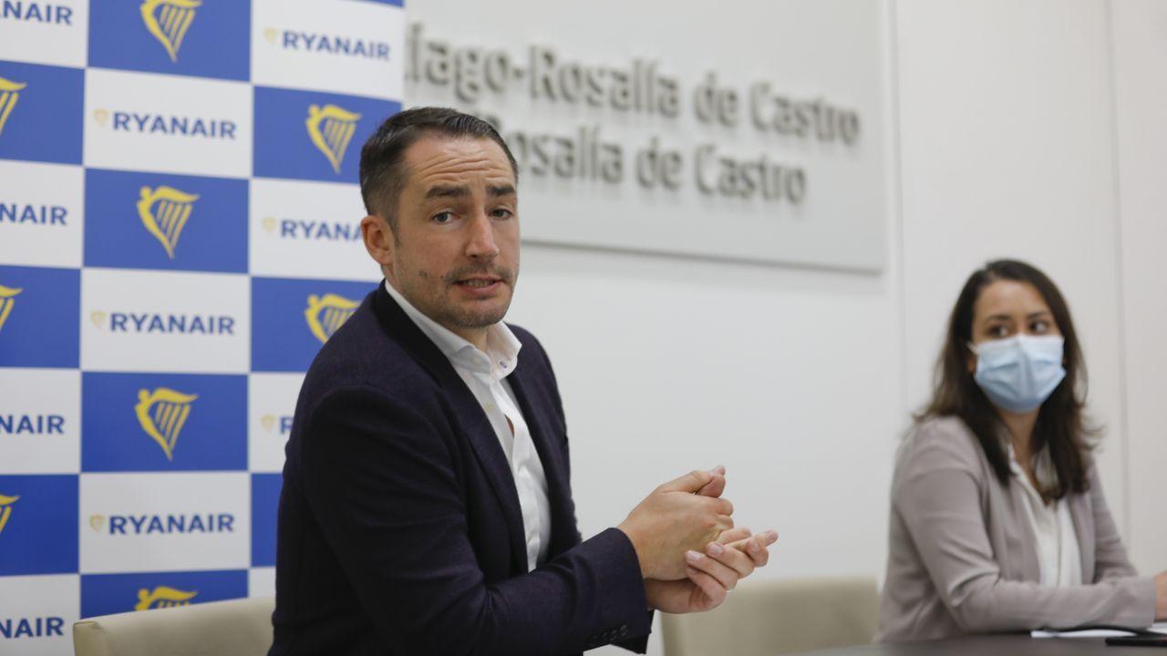 Jason McGuinness, director comercial de la compañía aérea irlandesa Ryanair