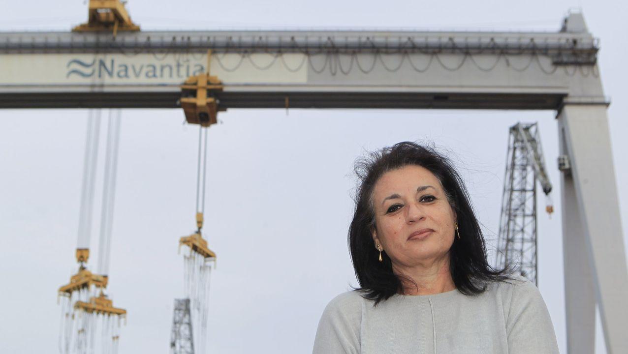 Los marineros de Porto do Son regresan a puerto con las redes inutilizadas