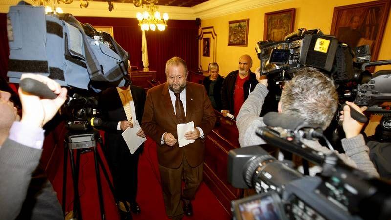 Rueda de prensa de López Orozco