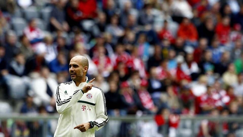 Así fue el primer entrenamiento de Guardiola con el Bayern de Múnich