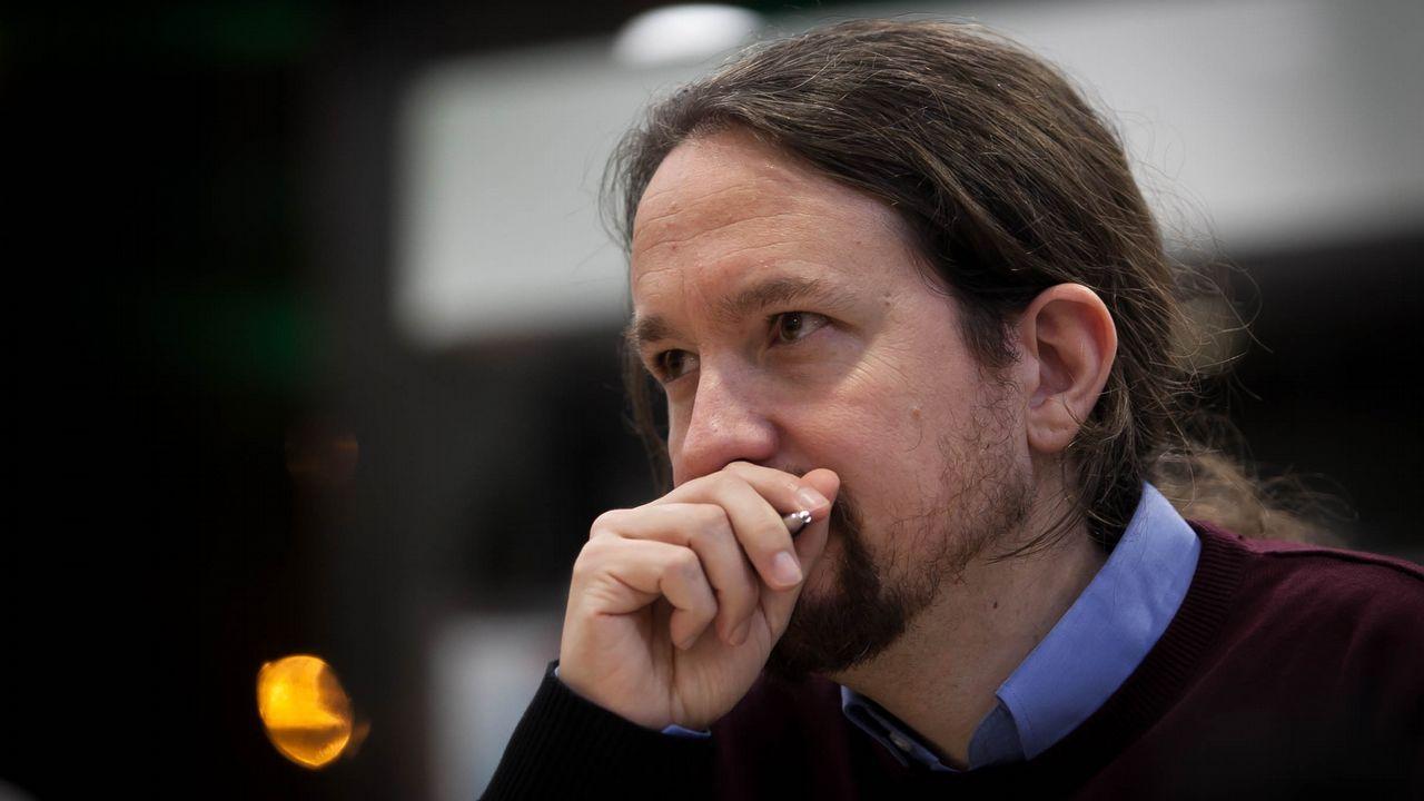Pablo Iglesias alerta de los «poderosos» que mandan más que los ministros y que asegura van a por Podemos