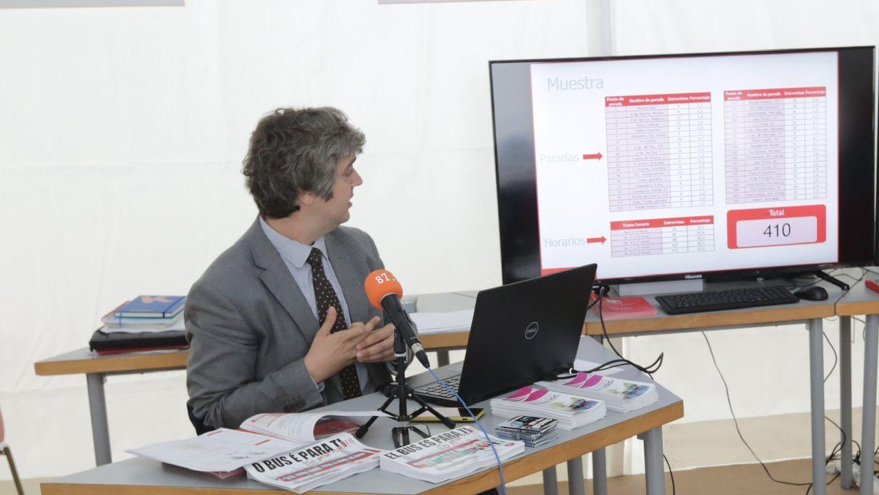 Ignacio Prada, (Tranvías) presenta encuesta satisfacción y balance año
