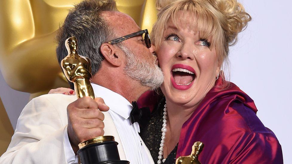 Colin Gibson y Lisa Thompson, mejor diseño de producción por «Mad Max».