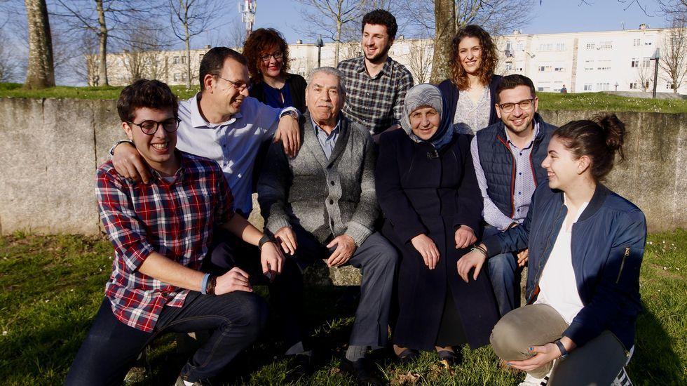 Los refugiados, a su llegada a Madrid