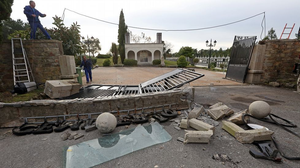 Accidente en el cementerio de Vista Alegre