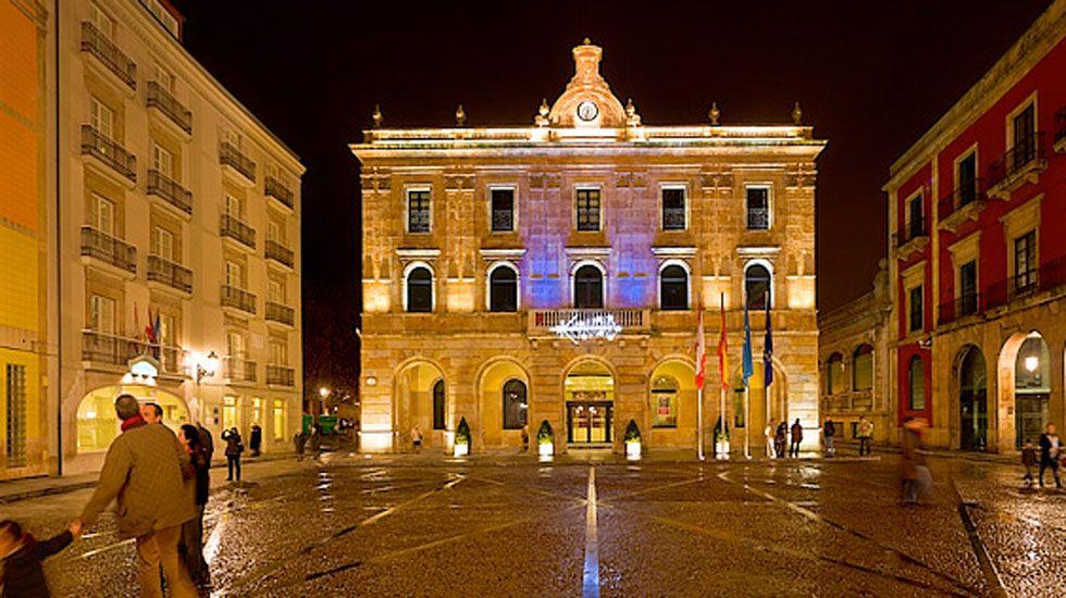La central térmica de Soto de Ribera.Ayuntamiento de Gijón