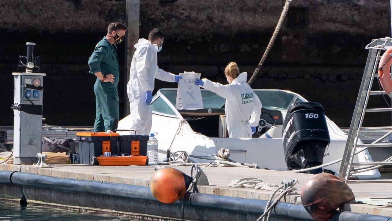 Así está siendo el inicio del despliegue de la Brilat en Rumanía.La Policía Científica analiza una embarcación propiedad del hombre desaparecido con sus dos hijas y que fue hallada en alta mar sin sus ocupantes