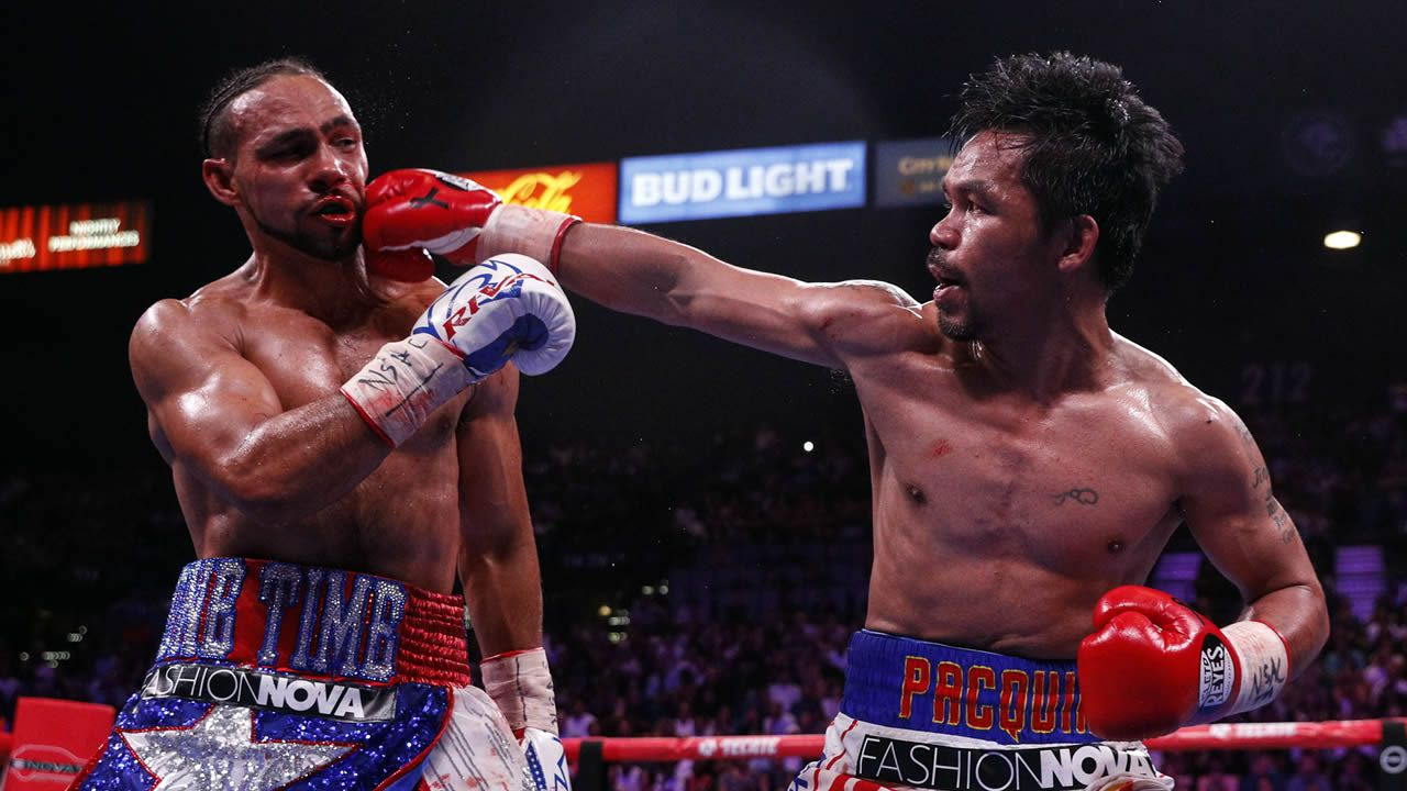 Keith Thurman vs. Manny Pacquiao