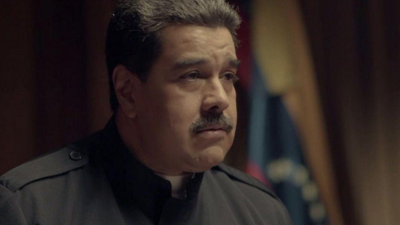 Maduro, en un momento de la entrevista