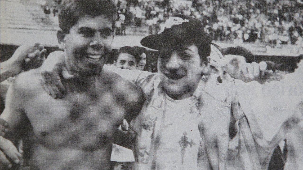 Ascenso en Sestao en 1992