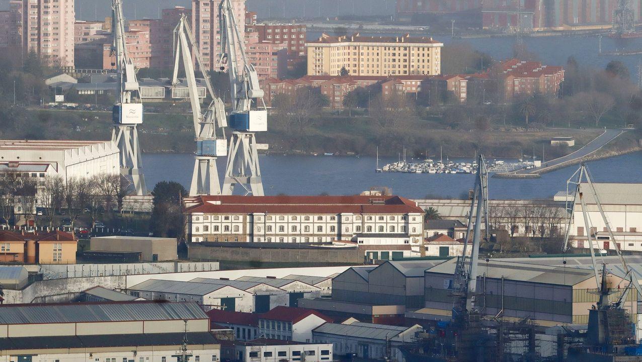 Las instalaciones de Navantia en Ferrol experimentarán una transformación para adecuarse al Astillero 4.0