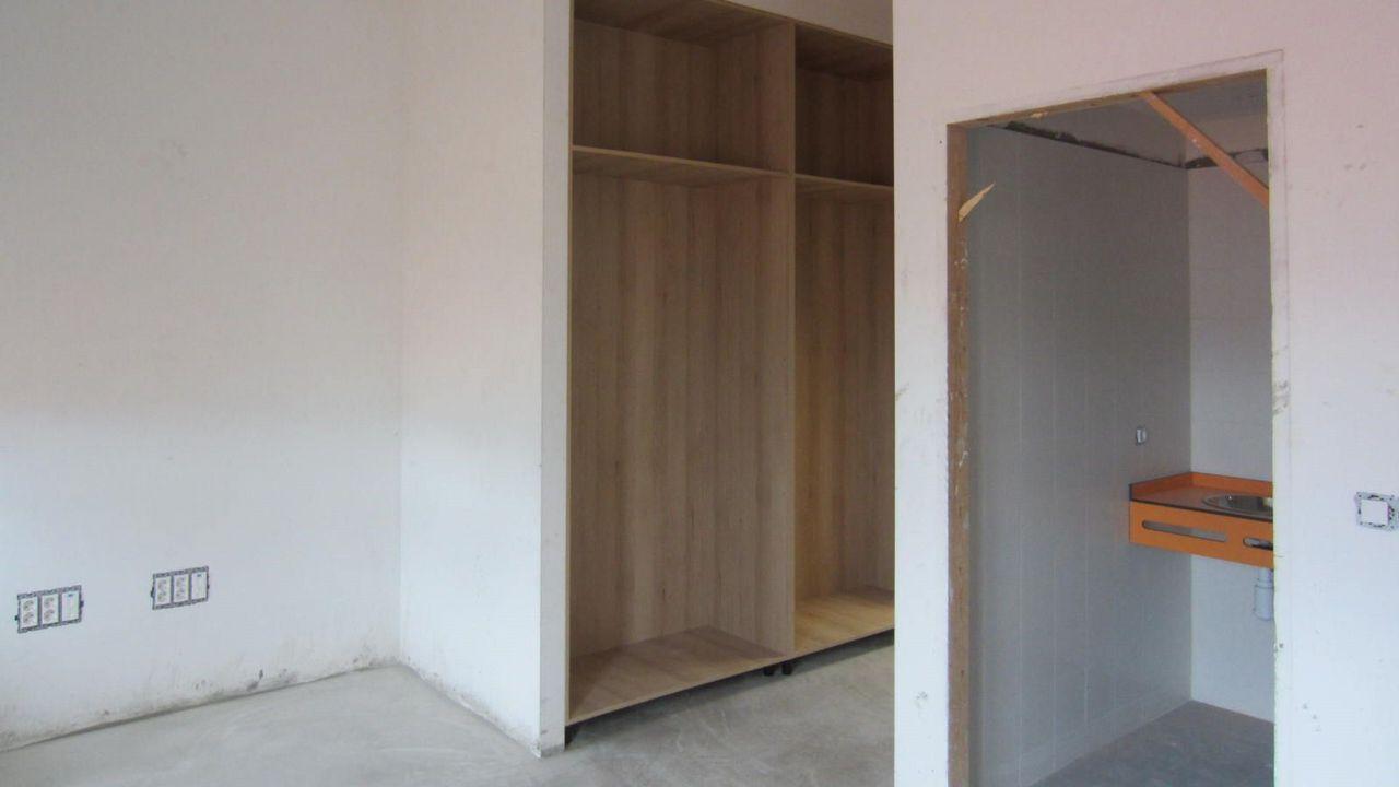 Obras en la residencia de la Diputación en el Calvo Sotelo. Futura residencia universitaria Elvira Bao
