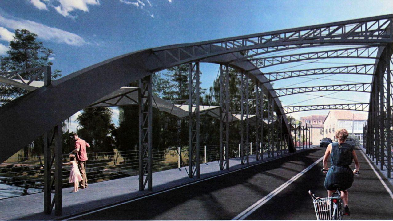 La ganadora y la demás... todas las propuestas de diseño para el nuevo puente de Monforte