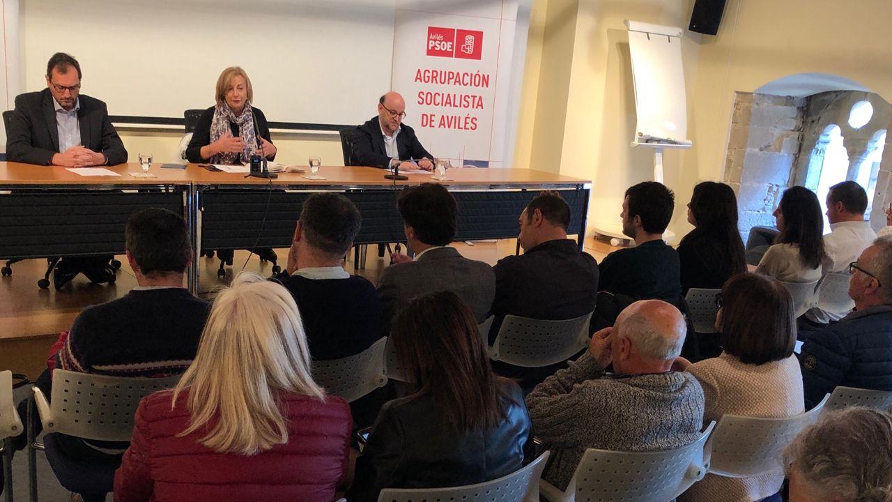 La alcaldesa de Avilés, Mariví Monteserín, en jornada sobre retos de la industria en el municipio y la nueva concepción de industria 4.0