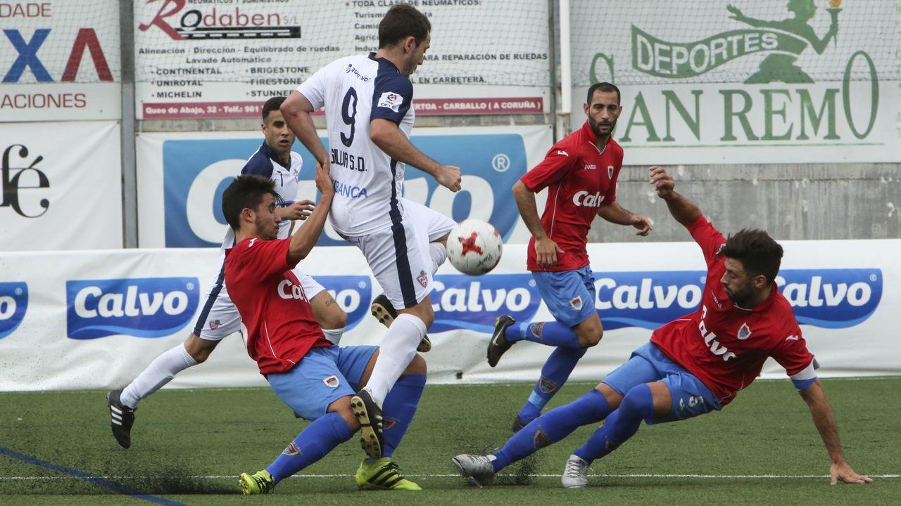 Las imágenes del partido Céltiga contra Coruxo.Imagen tomada durante el Vetusta - Sporting B de la 16/17