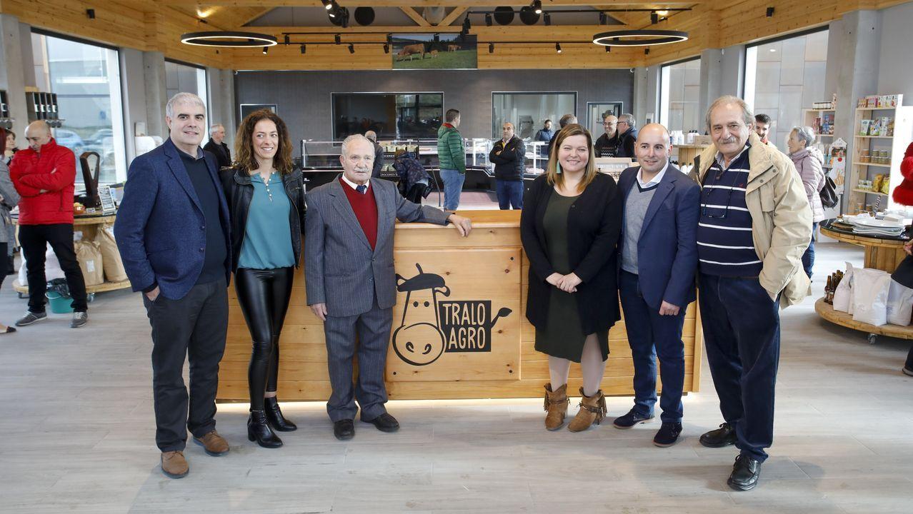 Inauguración de las instalaciones de Tralo Agro en Friol