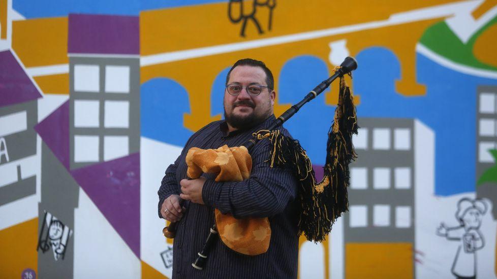 Sede de la RTPA, en Gijón.Gómez-Chao es también director artístico del Festival RESIS de Música Contemporánea de A Coruña
