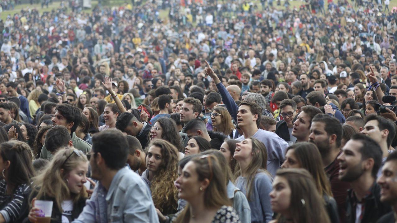 Imagen de archivo del Festival O Son do Camiño, en el año 2019
