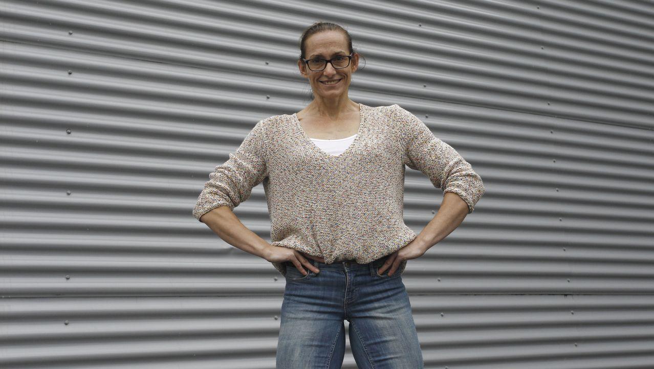 Ana Prieto, de 40 años, empezó a competir como culturista amateur en el 2013