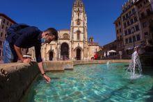 Calor en Oviedo