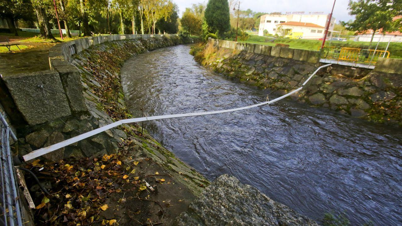 inundaciones gijon temporal frio lluvia asturias.La carretera comarcal 543 acabó cortada al día siguiente