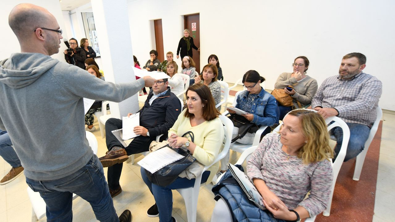 INICIO DEL CURSO ESCOLAR ALUMNOS  ESO Y BUP 2019/20.El diputado de Vox en la Junta General del Principado, Ignacio Blanco