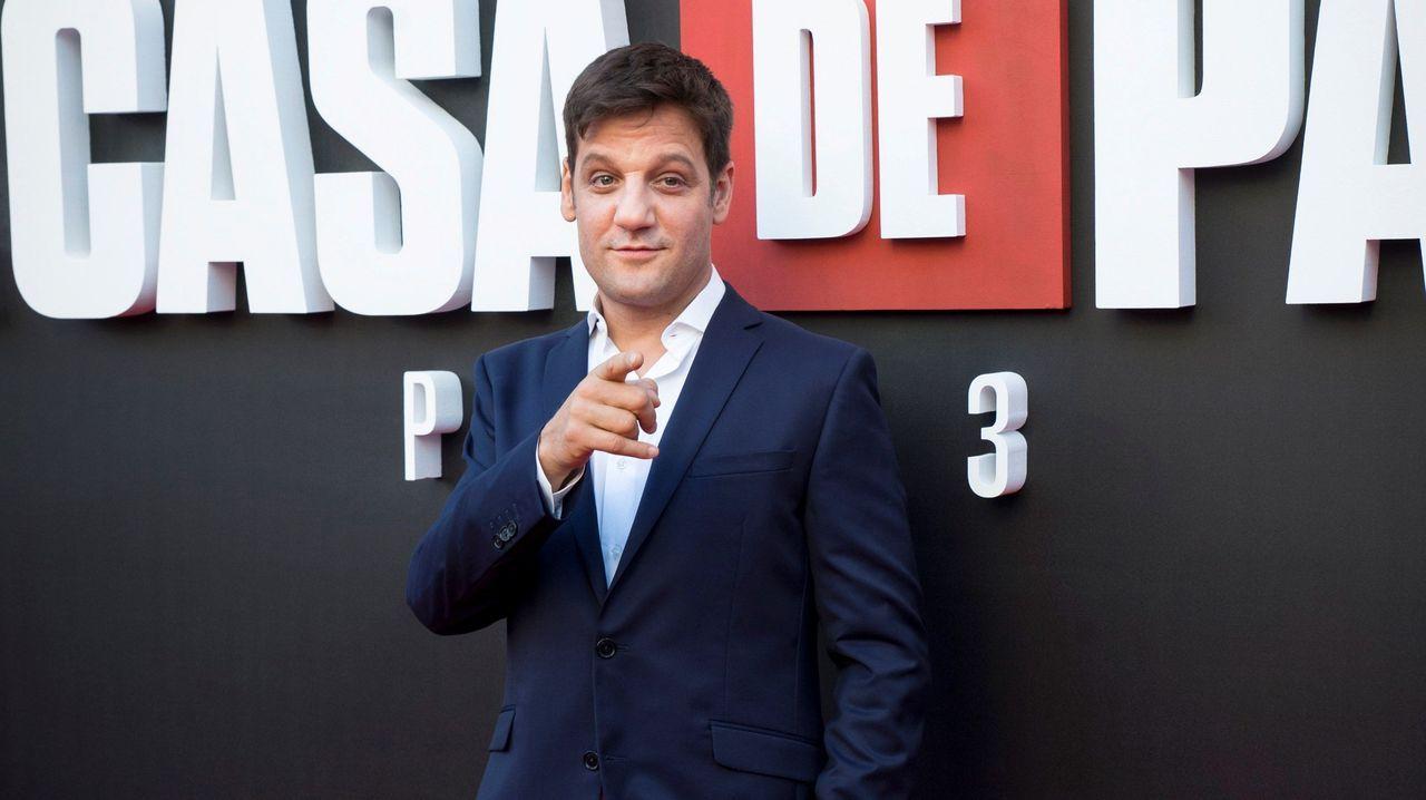 El actor argentino Rodrigo de la Serna