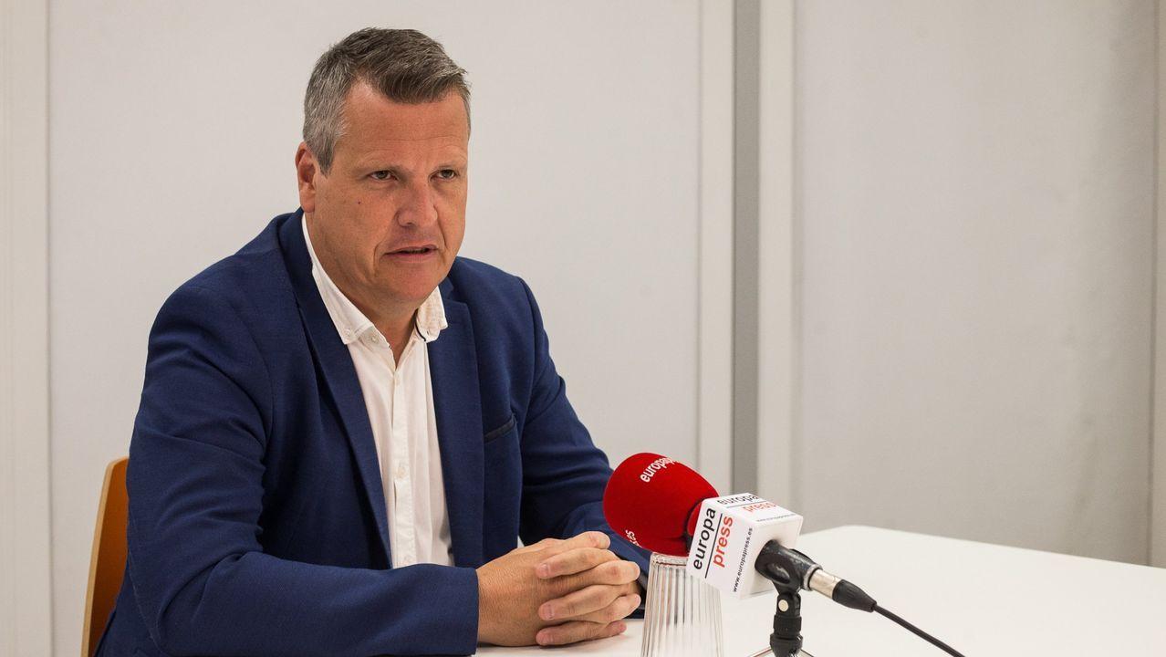 El vicesecretario general de Ciudadanos, Carlos Cuadrado