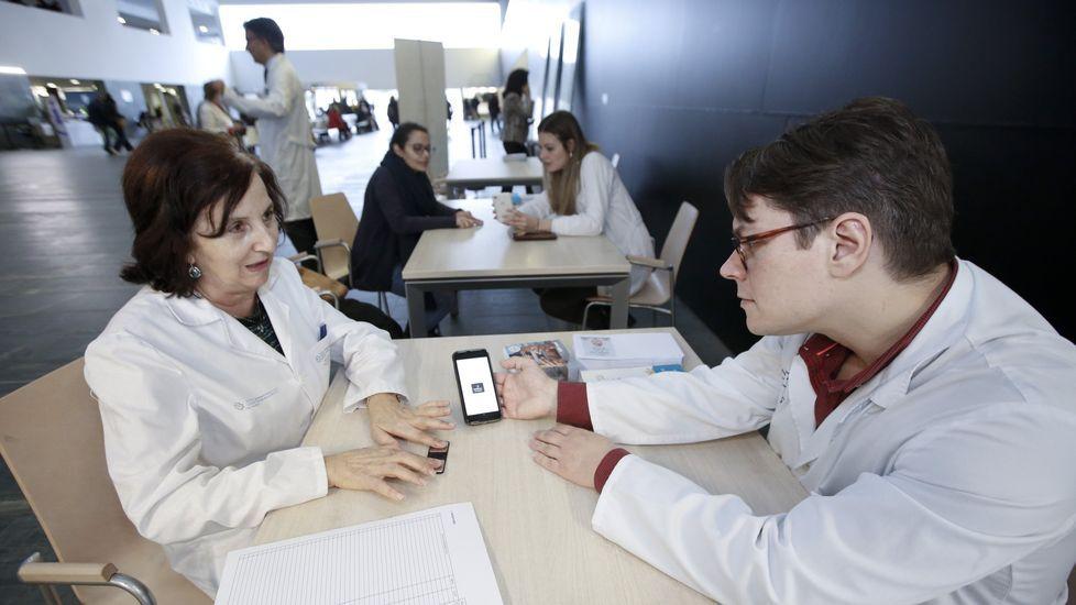 Campaña de prevención del ictus en el HULA, que el martes llegará a Monforte