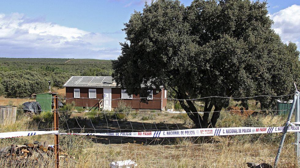 El sospechoso del crimen de Eva Blanco estaba en Francia y el caso estaba a punto de prescribir.La casa donde vivía el supuesto autor de la peregrina.