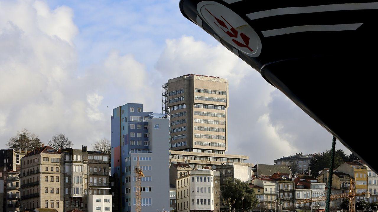 Oficinas del nuevo juzgado de lo social de Vigo, el número 7, que se puso en marcha este miércoles