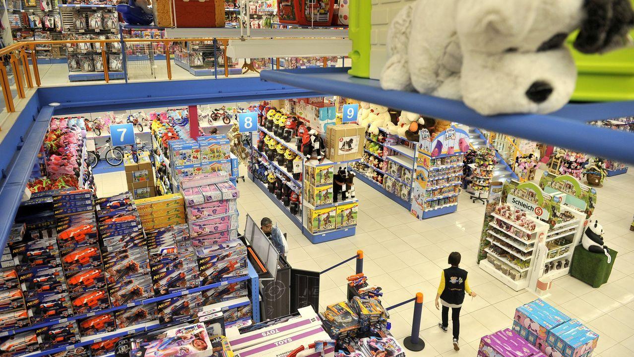 En la imagen, la tienda de ALI, que colaboró en la campaña