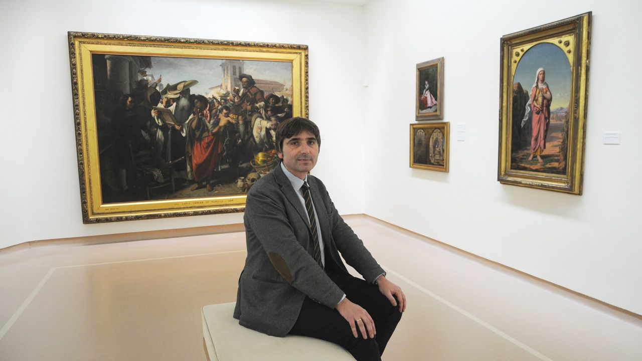 Alfonso Palacio, director del Museo de Bellas Artes de Asturias