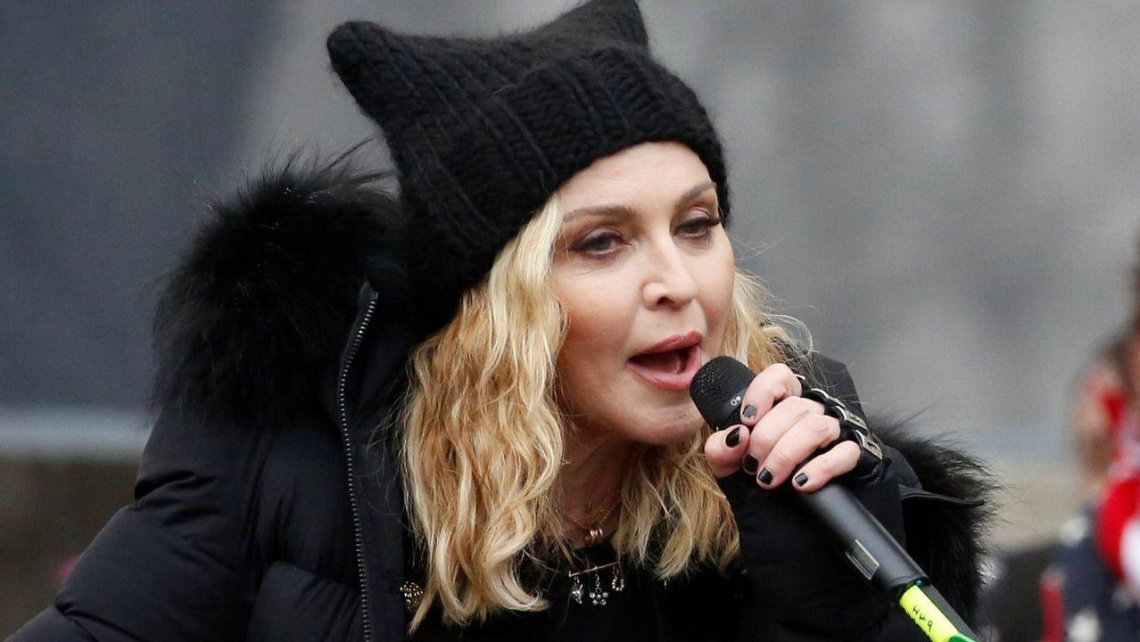 La cantante Madonna tiene vivienda en Sintra
