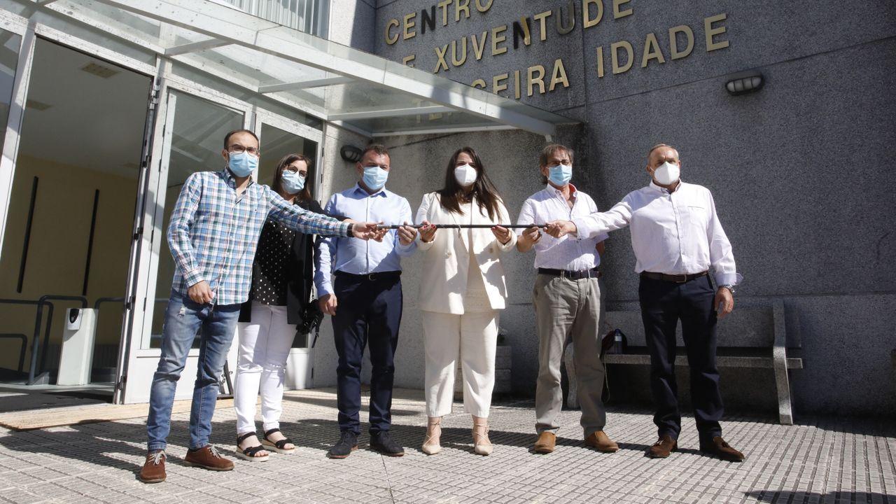 Futuro equipo de gobierno de Monterroso formado por tres ediles de IxM y tres ediles del PP