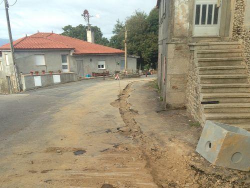 La carretera más peligrosa de España está en Ribadeo.Accidente de tráfico en la carretera entre Avilés y Luanco