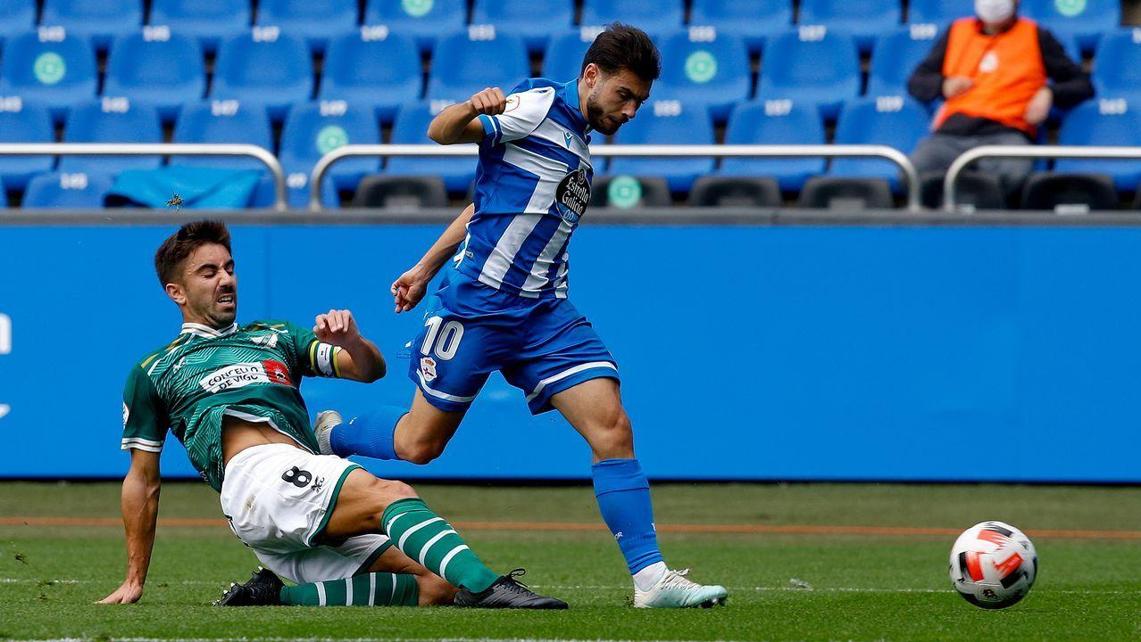 Todas las imágenes del Sevilla-Celta.Manu Sánchez, en una imagen del partido del domingo contra el Sevilla
