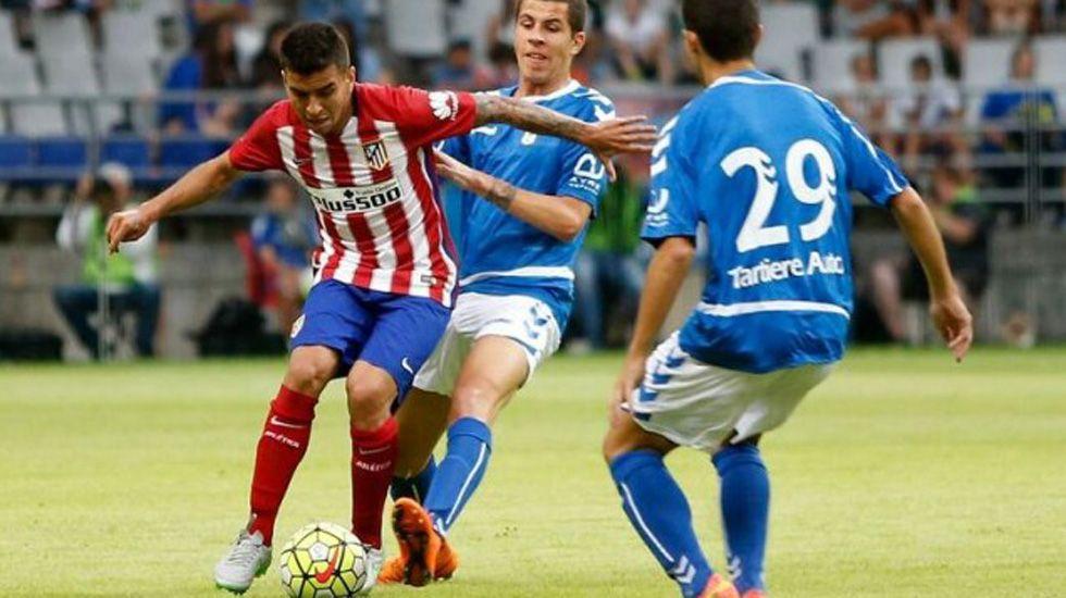 Christian Rivera Real Oviedo.Christian Rivera, durante un amistoso frente al Atletico