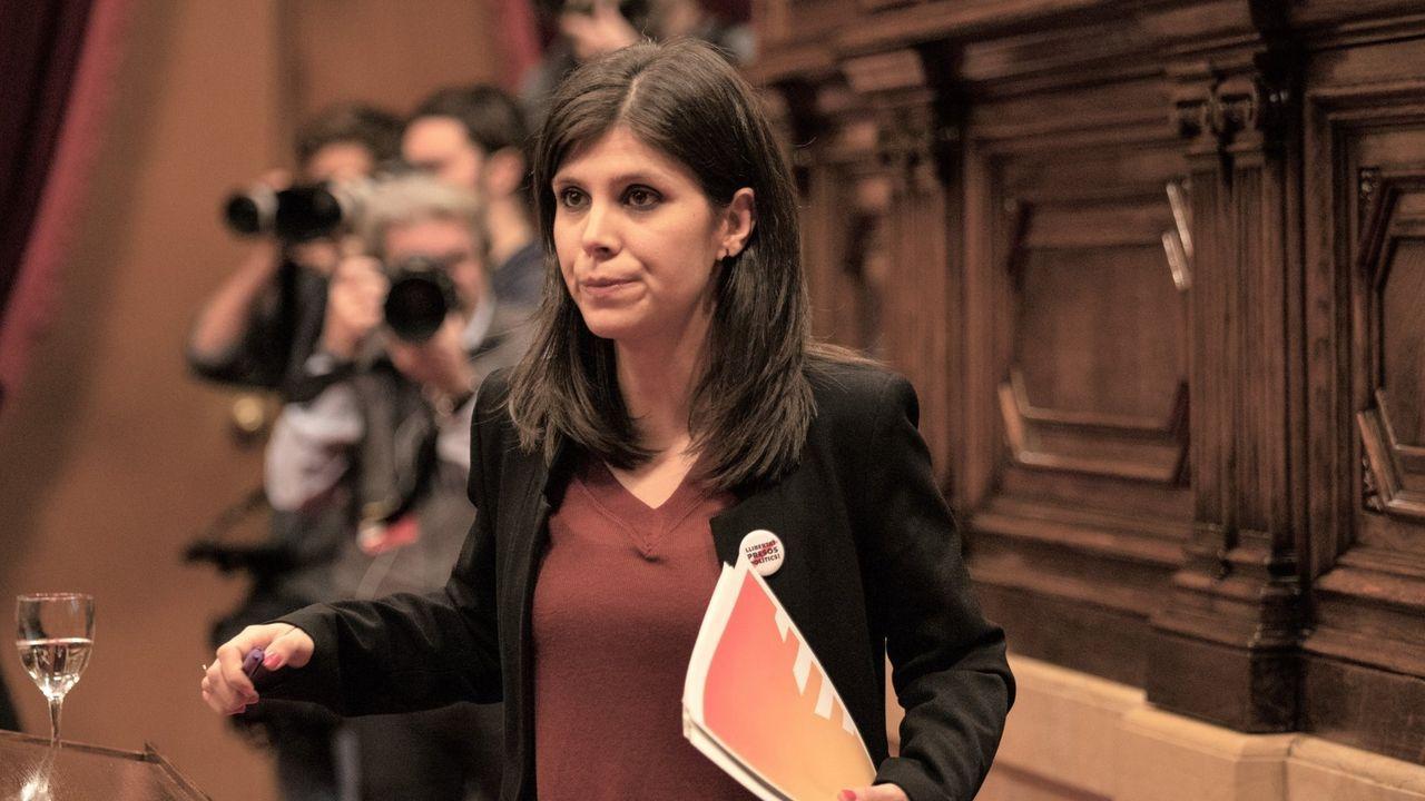 Marta Vilalta, portavoz de ERC