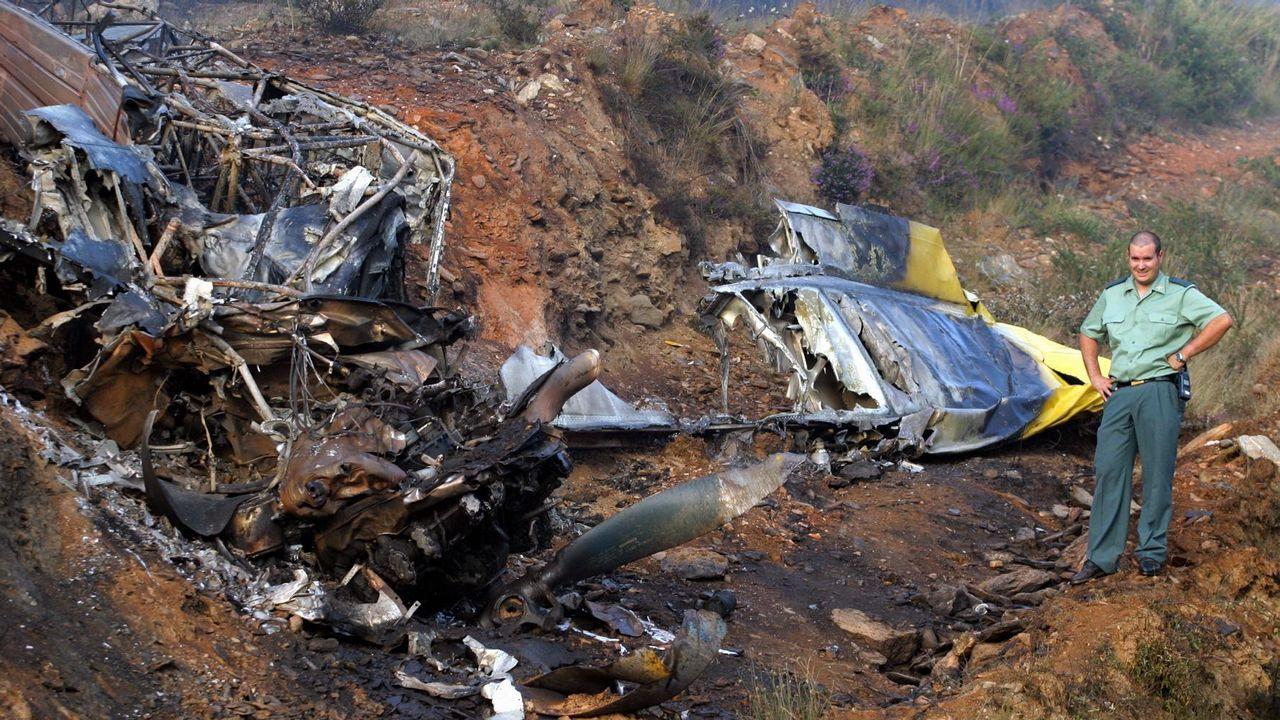Accidentes aéreos en Galicia.Vista aérea de la fábrica de Boing en Renton